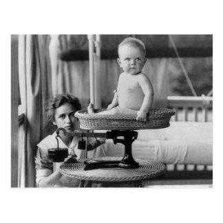 Bebé Fat, 1912 Tarjeta Postal