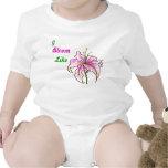 Bebé floral trajes de bebé
