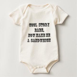 Bebé fresco de la historia body para bebé