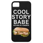 bebé fresco de la historia iPhone 5 carcasas
