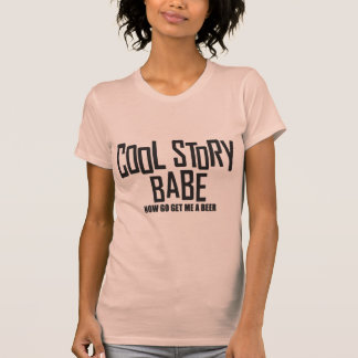 Bebé fresco de la historia camisetas