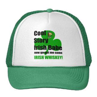 bebé fresco del irlandés de la historia gorro de camionero