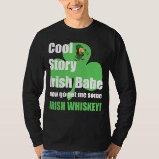 bebé fresco del irlandés de la historia playera