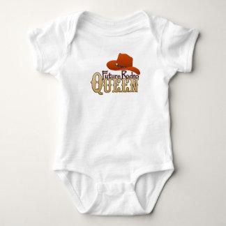 Bebé futuro de la reina del rodeo poleras