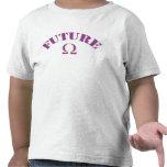 bebé futuro de Q Camiseta