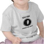 Bebé futuro del francotirador de ZKS Camisetas