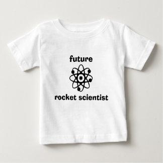 Bebé futuro T del científico de Rocket Playera De Bebé