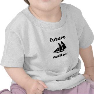 Bebé futuro T del marinero Camiseta