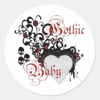 Bebé gótico del Victorian Etiquetas