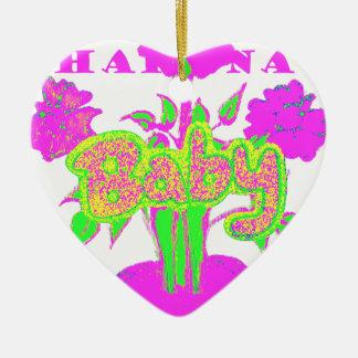bebé Hakuna Matata.png de los niños Adorno De Cerámica En Forma De Corazón