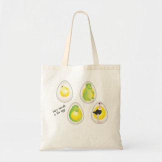 Bebé-huevos en los huevos bolsas