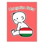 Bebé húngaro postal
