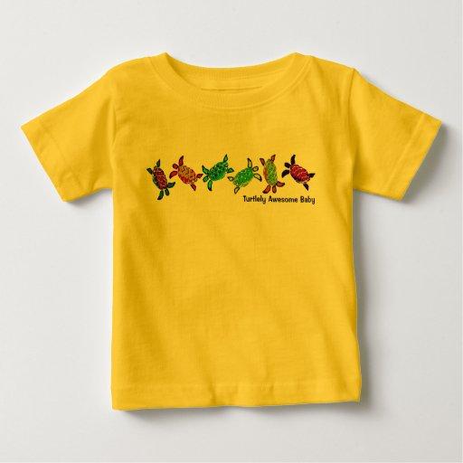 Bebé impresionante de Turtlely T-shirt