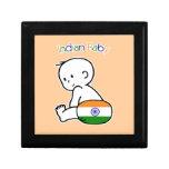 Bebé indio cajas de recuerdo
