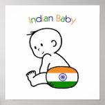 Bebé indio impresiones