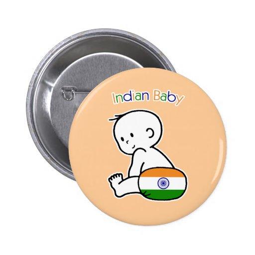 Bebé indio pins