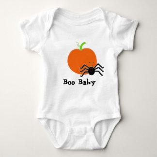Bebé infantil del ABUCHEO de la araña de la Mameluco De Bebé