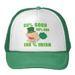 Bebé irlandés divertido del niño gorros