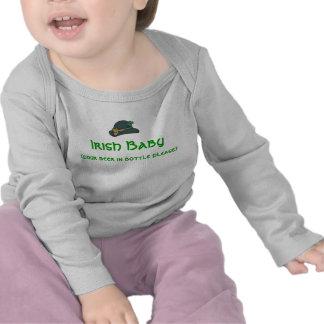Bebé irlandés camiseta