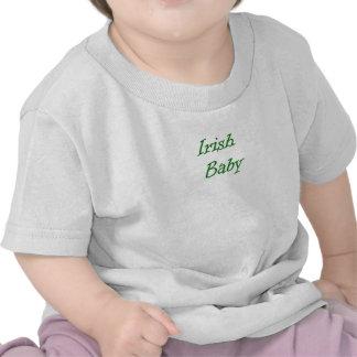 Bebé irlandés camisetas