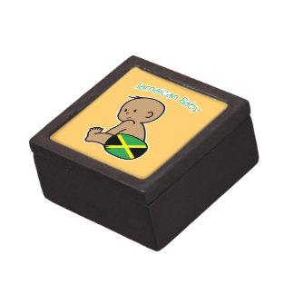 Bebé jamaicano caja de joyas de calidad