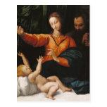 Bebé Jesús de Maria de la madre Tarjetas Postales