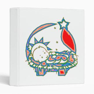 Bebé Jesús debajo de una estrella