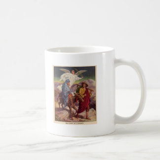 Bebé Jesús en su manera a Egipto Taza De Café