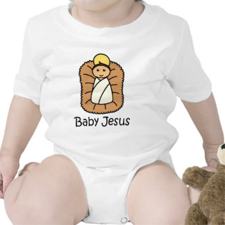 Bebé Jesús en un pesebre Trajes De Bebé
