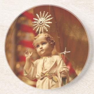 Bebé Jesús Posavasos Para Bebidas