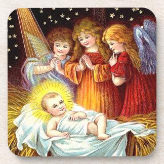Bebé Jesús Posavasos De Bebidas