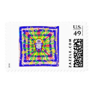 bébé-Jésus Postage Stamp
