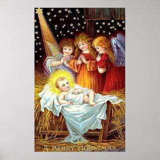 Bebé Jesús Póster