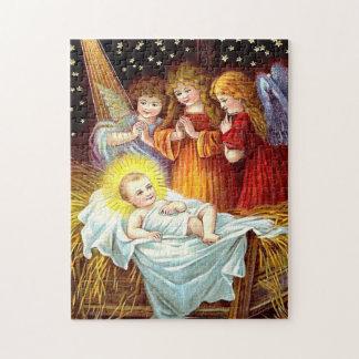Bebé Jesús Rompecabeza Con Fotos