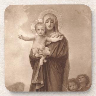 Bebé Jesús y madre Maria Posavaso