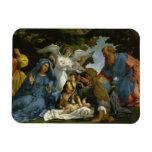 Bebé Jesús y Maria con los santos Iman De Vinilo
