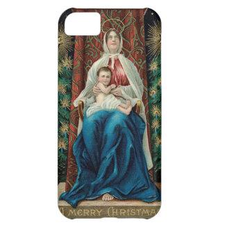 Bebé Jesús y Maria en navidad