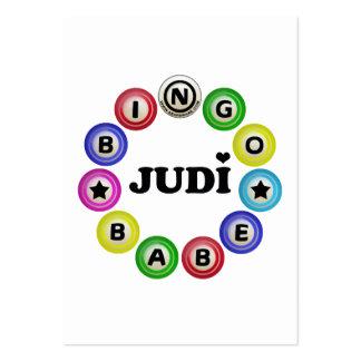 Bebé Judi del bingo Tarjetas De Visita