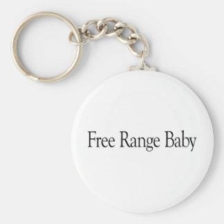 Bebé libre de la gama llaveros