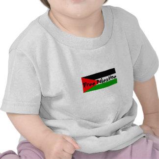 Bebé libre de Palestina a la camiseta del niño