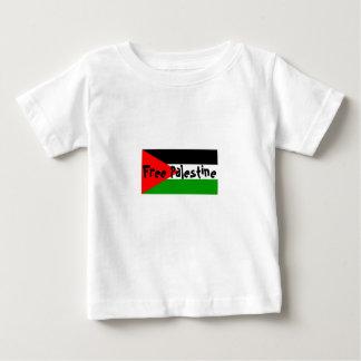 Bebé libre de Palestina a la camiseta del niño Playeras