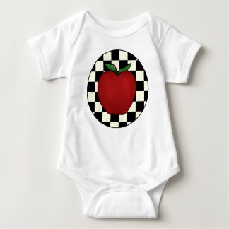 Bebé lindo de Apple Camisetas