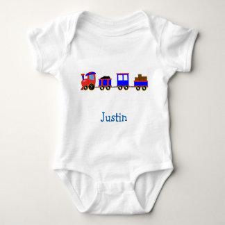 Bebé lindo de JUSTIN nombrado camisetas de los Mameluco De Bebé