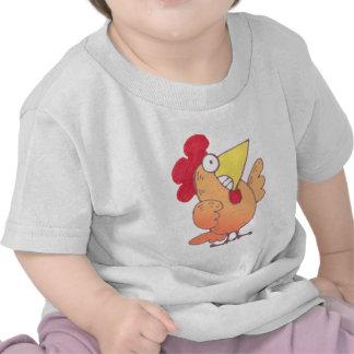 Bebé lindo de la camiseta del dibujo animado de la