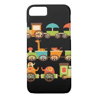 Bebé lindo de los niños de los regalos del tren de funda iPhone 7