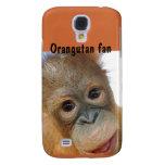 Bebé lindo del Redhead del orangután