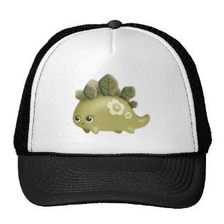 Bebé lindo Dino frondoso - criatura del estilo del Gorra