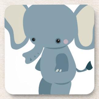 Bebé lindo eleplant posavaso