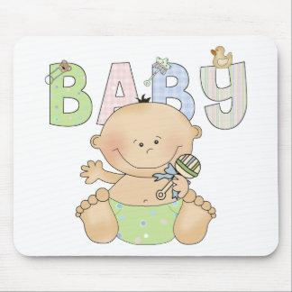 Bebé lindo Mousepad Alfombrillas De Ratón