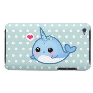 Bebé lindo narwhal en lunares Case-Mate iPod touch protector